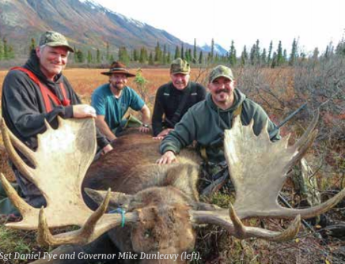 Alaska Governor Joins SCI to Put An American Hero on the Moose and Grizzly Hunt of  A Lifetime